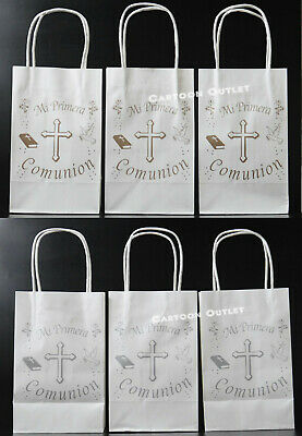 12 FIRST COMMUNION PARTY CANDY BAGS FAVORS PRIMERA COMUNION BOLSAS RECUERDOS   ](Communion Party Bags)