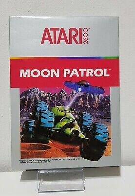 Moon Patrol Atari Vcs 2600 Ovp (1983) Mint A5184