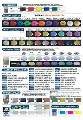 - GSI Creos Mr. Hobby Mr. Color GX Model Paint Series 18mL Choose your Color