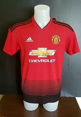 Manchester United Adidas Home Shirt 2018 2019 Size M BNWT