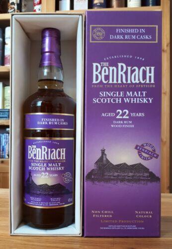 """BenRiach 22 Jahre  """" Dark Rum Finish """""""