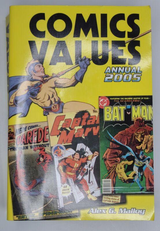 Comics Values Annual 2005 Malloy KP Books Paperback