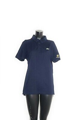 Lacoste Sport Polo Shirt Medium Navy Blue Presidents Cup