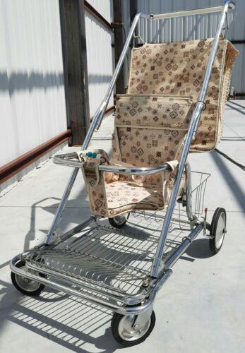 Stroller vintage antique retro Peterson Folda Rola baby seat highchair walk