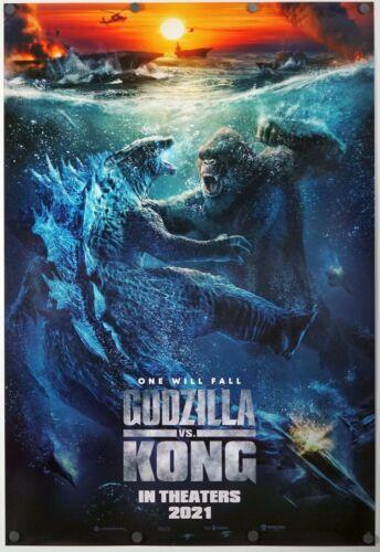 Godzilla Vs Kong - original DS movie poster 27x40 D/S - INTL C 2021