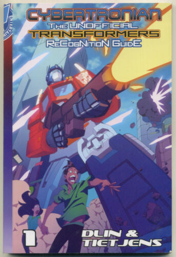 CYBERTRONIAN TRANSFORMERS RECOGNITION GUIDE Pocket Manga Vol 1; Antarctic Press