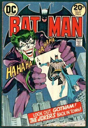 Batman #251 Bronze Age DC 5.0