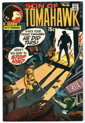 Son of Tomahawk #134, Very Fine - Near Mint Condition*