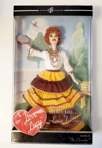 I Love Lucy The Operetta 2005 Episode 38 COLLECTABLE Retired NIB DOLL Mattel - $60.00