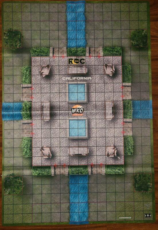 heroclix ROC State Championship Map - California - Aporthetos Temple