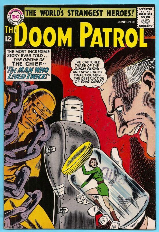 The Doom Patrol #88 June 1964 Origin The Chief