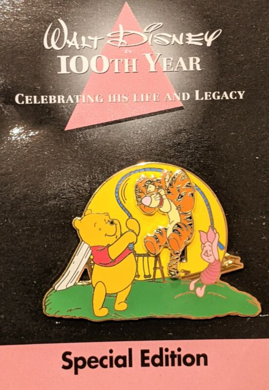 Walt Disney 100th Year Special Ed.#6 Pooh Piglet MOVING Tigger Jump Rope LE5000