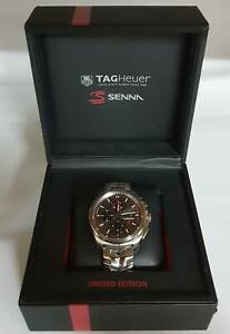 TAG Heuer Senna Carrera Calibre 16 CBB2010 Mens Watch Stainless Steel Toukley Wyong Area Preview