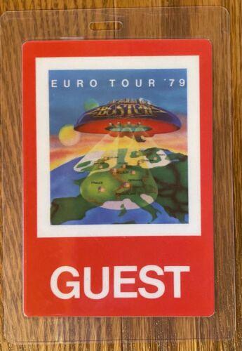 1979 Boston Backstage Pass Guest Euro Tour 79 Don