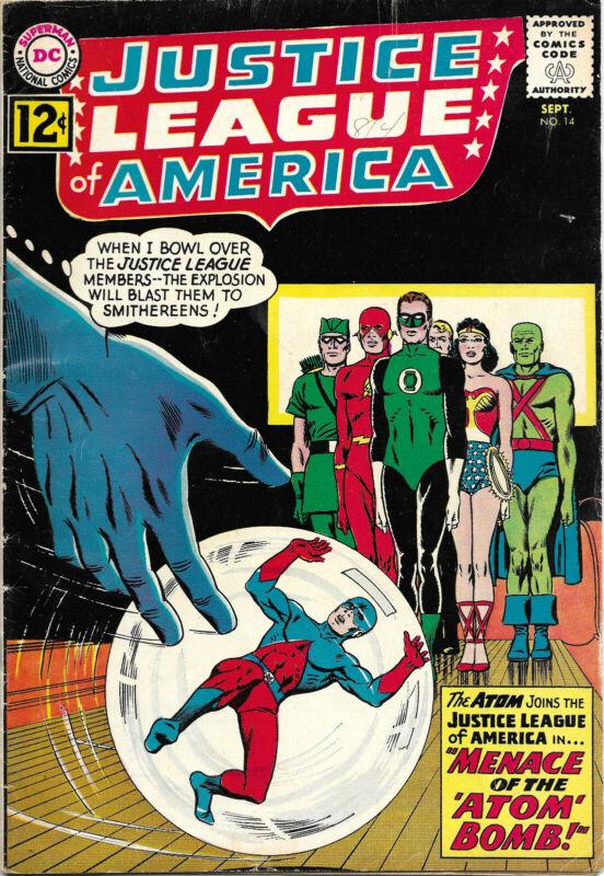 Justice League of America #14 comic book (1962, DC)