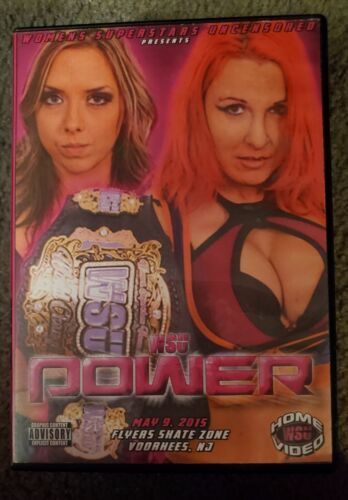 WSU Women s Wrestling Power DVD May 2015 Lufisto Cherry Bomb Athena - $7.95