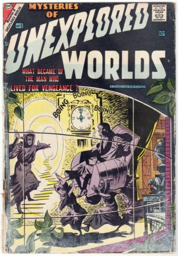 Mysteries of Unexplored Worlds #5 (1957) Charlton All-Ditko Issue Scans