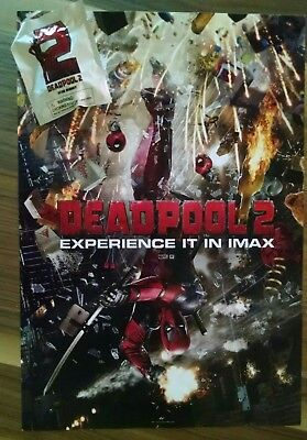 Deadpool 2 Official Movie 13  X 19  Premiere Night Imax Poster   Desk Buddy