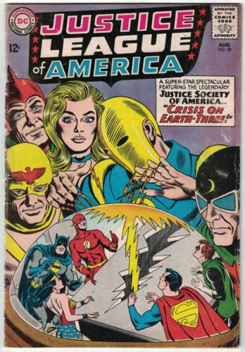 Justice League of America #29 VG; DC | 1st app of Crime Syndicate & Earth-3
