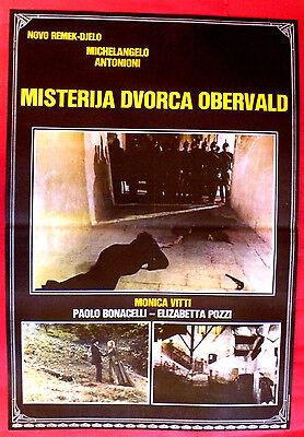 MYSTERY OF OBERWALD 1980 ITALIAN MONICA VITTI PAOLO BONACELLI EXYU MOVIE POSTER
