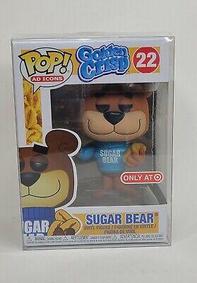 Funko Pop! Golden Crisp Sugar Bear #22 New w/Pop Protector Target Exclusive