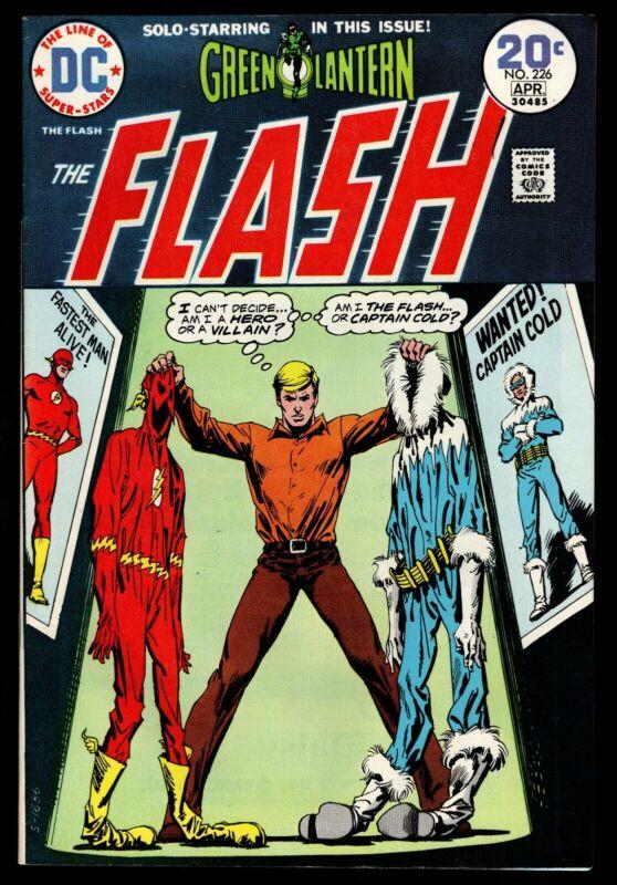 Green Lantern - The Flash #226, Art by Neal Adams, NM