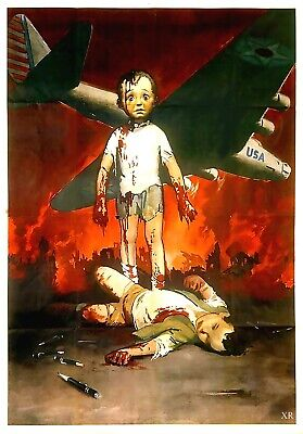 US Seller- inexpensive home decor 1944 Italy - WWII world war propaganda poster (Inexpensive Home Decor)
