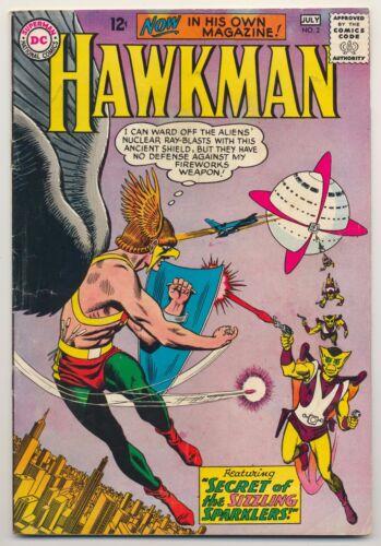 Hawkman #2 (1964) Very Good (4.0) ~ DC Comics ~ Silver Age