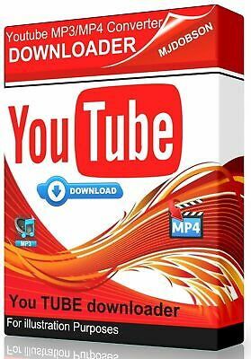Youtube to MP3/MP4 Converter Video Downloader and Converter Mp4 Video Converter