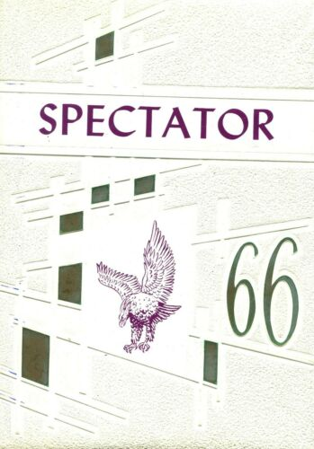 CIVIC MEMORIAL HIGH SCHOOL, BETHALTO, ILLINOIS YEARBOOK - SPECTATOR - 1966