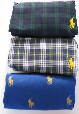 Polo Ralph Lauren classic fit woven boxers 3-Pack $39.50 price size medium new