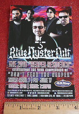 BLUE OYSTER CULT, Al Kooper double-sided POSTCARD, BB Kings, Kasim Sultan, TODD