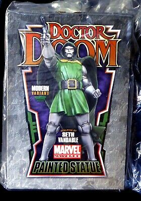 Dr. Doom Modern Variant Statue New 2010 LTD to 200 Bowen Marvel FF4 Amricons Dr Doom Statue