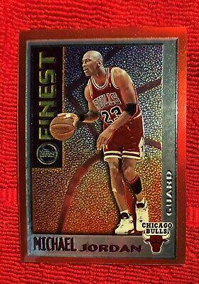 1995-1996 Topps Mystery Finest Michael Jordan Chicago Bulls #M1 The Last Dance