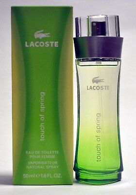 Touch of Spring by Lacoste Perfume Women 1.6oz / 50 ml Eau de Toilette Spray