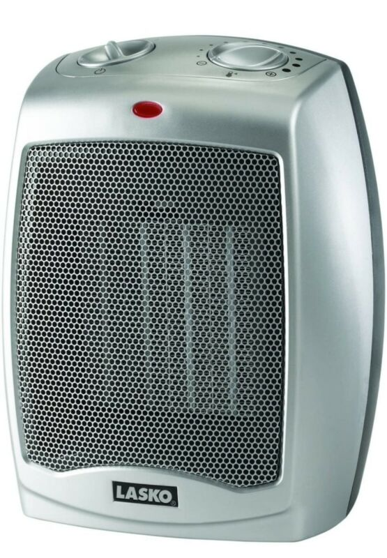 Lasko 754200 Ceramic Heater with Adjustable Thermostat New Other