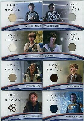 2019 Lost In Space Series 1 8 card Costume/Relic Set RC1-RC8