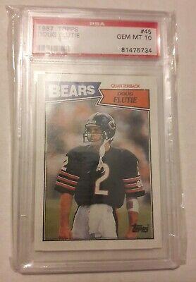 Doug Flutie ~ 1987 Topps ~ PSA 10 ~ Bears ~ Boston College ~ Doug Flutie Nfl