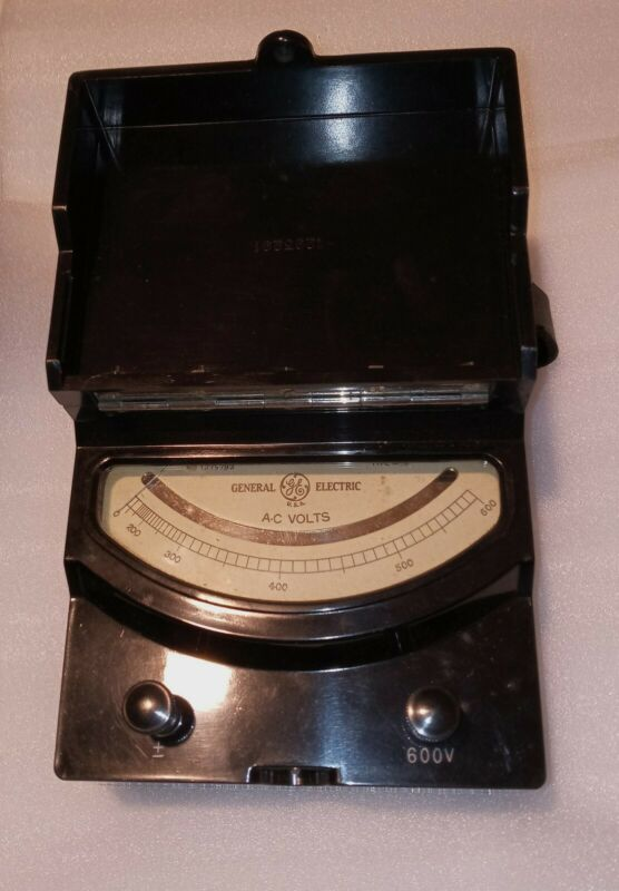 Vintage General Electric Type AP-9 Voltmeter, Model 8AP9VA57 Test Unit