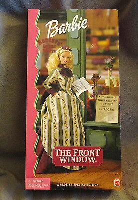 NIB 2000 BarbieThe Front Window Doll  Grolier Special Edition