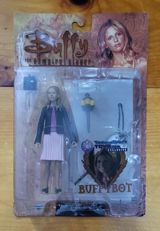 Buffy the Vampire Slayer Buffybot Action Figure Time and Space Toys Exclusive
