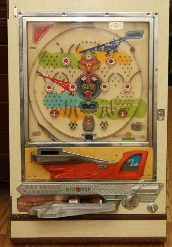 Vintage Mizuho Pachinko Machine For Parts Or Repairs
