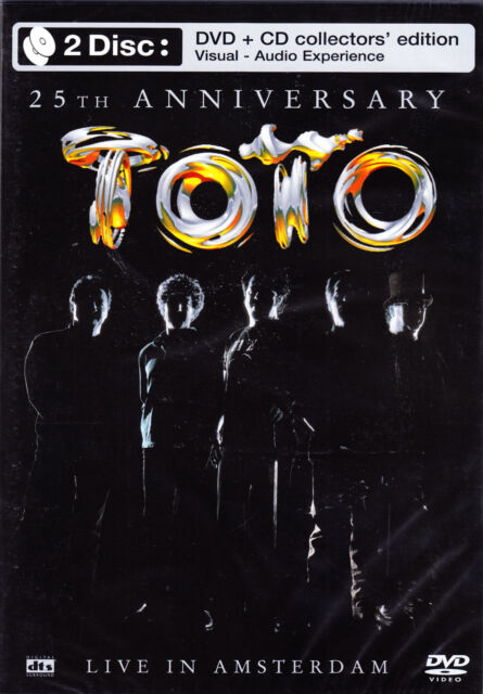 TOTO live in amsterdam 25th anniversary DVD + CD NEU OVP/Sealed