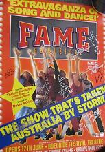 """Original """"Fame The Musical"""" poster with signatures from the cast Prospect Prospect Area Preview"""