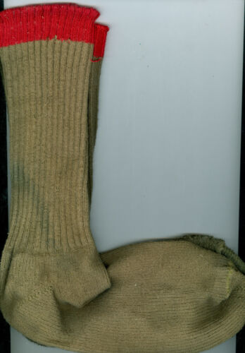 Older Official Boy Scout Red Top Socks #2