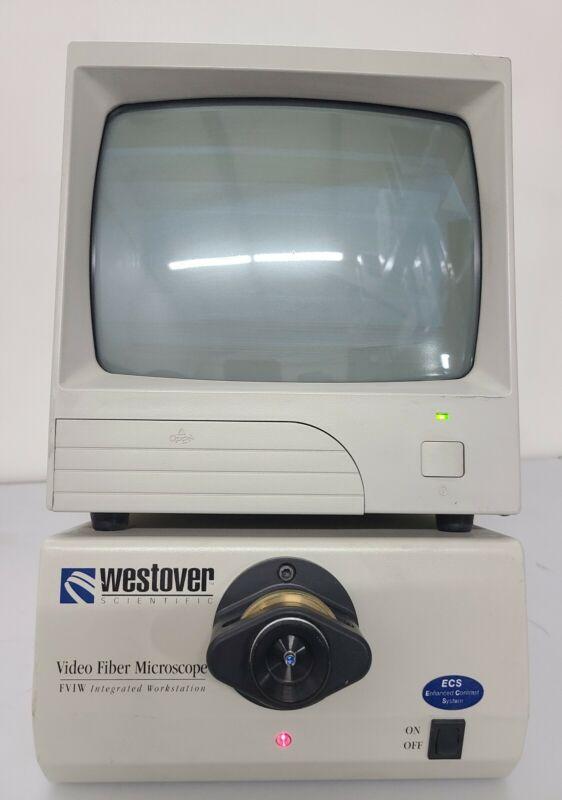 WESTOVER Scientific   Video Fiber Microscope FVIW Integrated Workstation