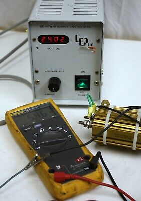 Lep Arc Lamp Power Supply 990024 3v - 24v 5a 120w. Ludl Arclamp Microscope