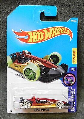 2017 Hot Wheels Car 309/365 Track Hammer - International N/P Case