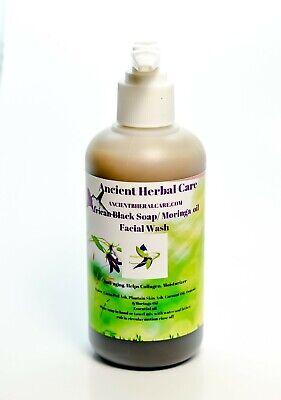 Aged Black Wash (Moringa African Black Soap(Anti-aging Facial)