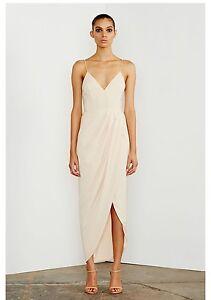 Shona Joy - Core Cocktail Dress - Size 8 - Nude - New w. Tag. Kambah Tuggeranong Preview